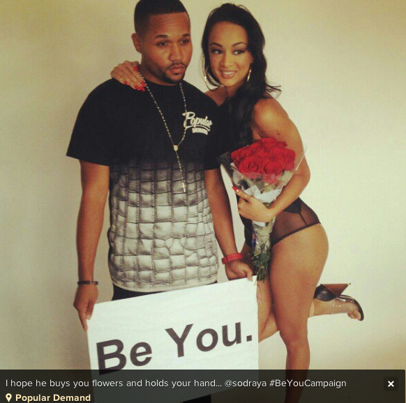 Draya Michele s Man Caught Cheating Again