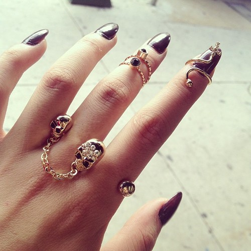 Nail rings are the latest trend and it's understandable considering ...